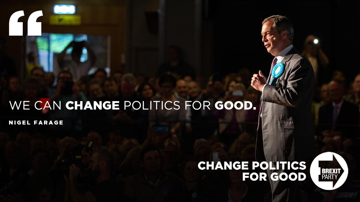 If you want to change politics for good, become a registered supporter of The Brexit Party today: http://thebrexitparty.org/register