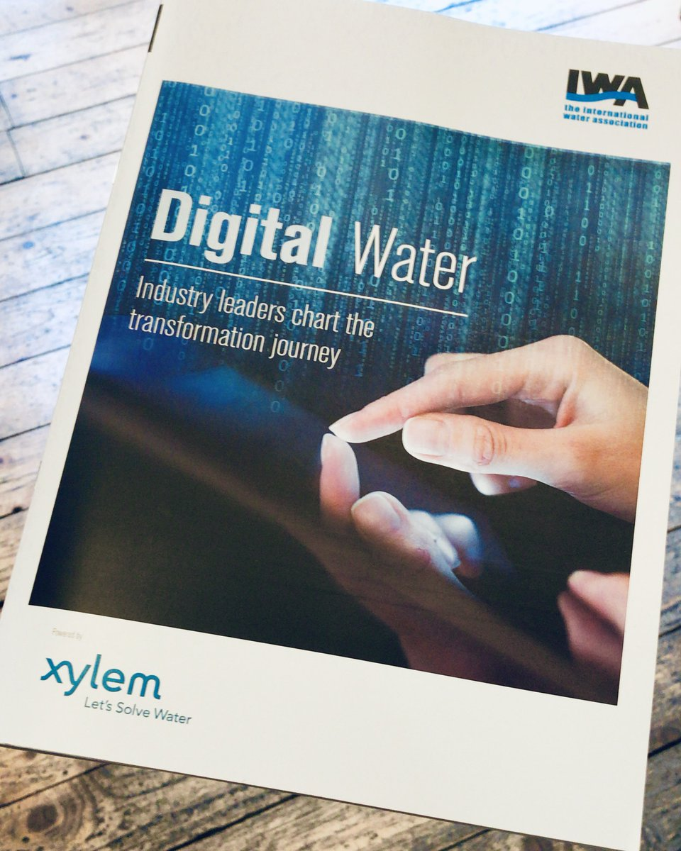 The IWA and @XylemInc #DigitalWater report learns from early adopters of digital solutions to help guide peers through the water transformation journe...
