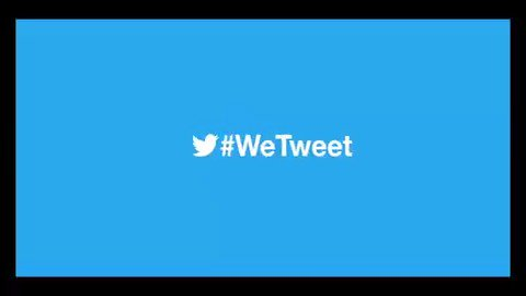 No Tweet is too small when #WeTweet together.