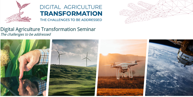 Digital Agriculture Transformation Seminar - Agrinatura