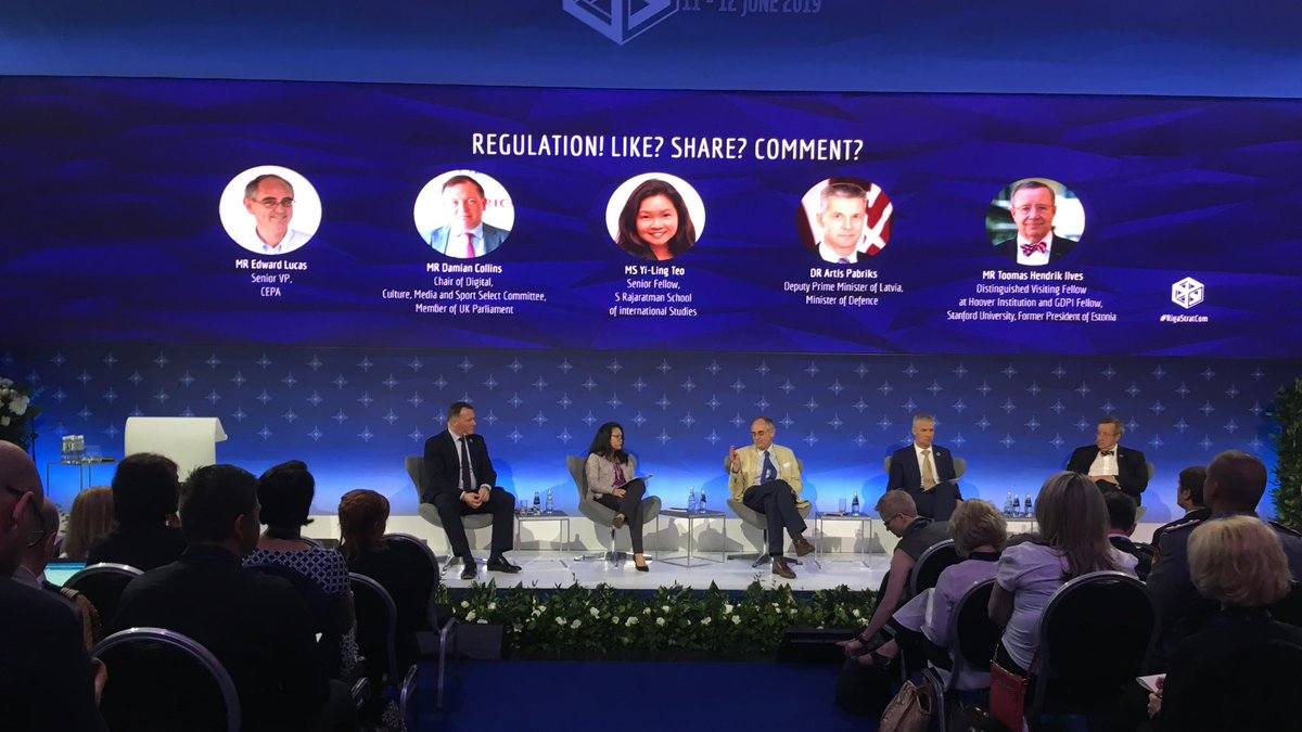Like, share, comment? Regulation for that? We shouldn't forget also about moral psychology and specifically emotions. What is a trigger that push people to take a specific action? Those who know how to use it have a huge advantage. #RigaStratCom