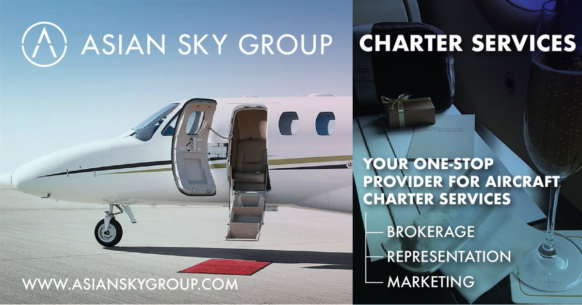 Have you booked your summer holiday yet? From light models to VIP airliners, #ASG offers a wide-selection of #BusinessJets to cater to every #charter need. Contact ASG's Charter Services Manager Serena Lui for more info. https://lnkd.in/ecbAcbU   #AsianSkyGroup