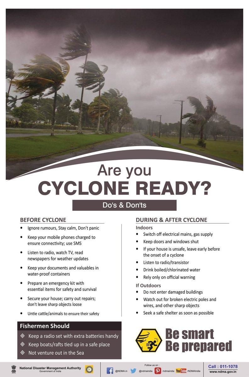 Are you ready ? #CycloneVayu