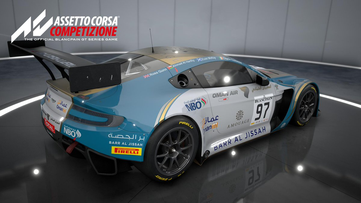 Assetto Corsa On Twitter Check Out The Aston Martin Racing V12 Vantage Gt3 Available Now In Acc This Iconic British Beast Is Not Only A Fan Favourite But Also Aston Martin Racing S