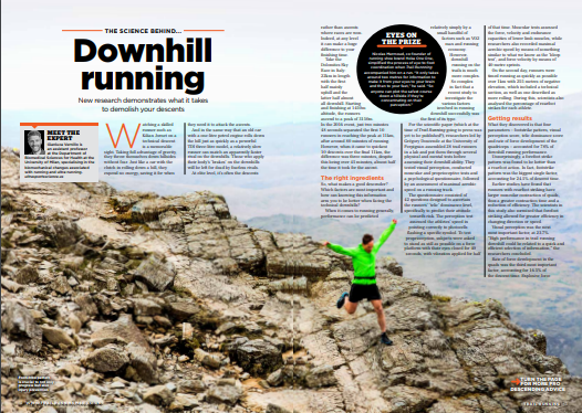 What makes a good downhill runner? In the latest TR, we report on a recent revolutionary scientific study from @upvd1 (thanks to @Volvic_VVX) that highlights the factors. @gianluverny