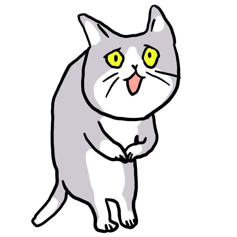 """表情……😇「現場猫」元ネタ作者の新キャラ""""これからしかられるネコ""""がじわると好評 「いい顔」「仕事中の俺か」  @itm_nlabから"""