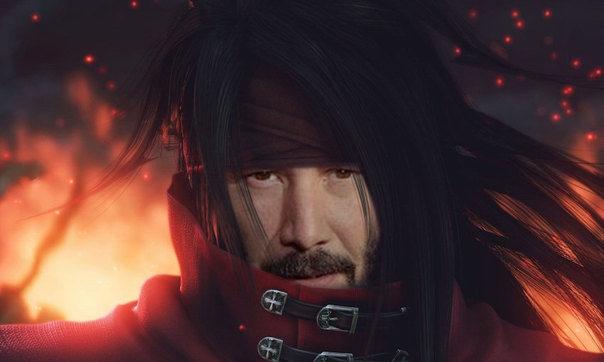 Emel Commissions Closed On Twitter Breaking Keanu Reeves Is Playing Vincent Valentine In The Upcoming Final Fantasy Vii Remake Everybody Say Thank You Square Enix Https T Co Fcolu4bjoy