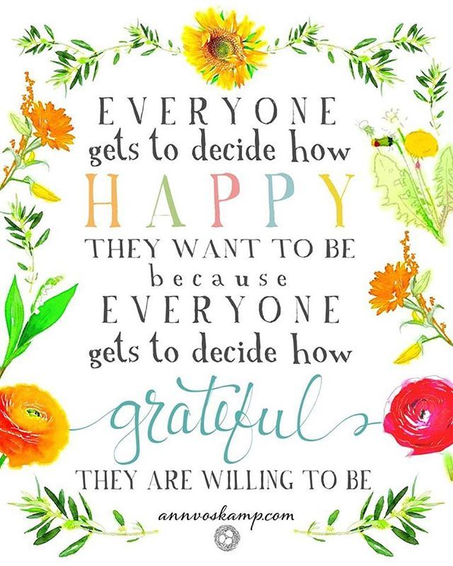 #everyone gets to #decide how #happy they want to be because everyone gets to decide how #grateful they are willing to be. #annvoskamp #gratitudequotes #thankfulquotes #thankfulnesschallenge #gratitudeattitude #lifequotes #instaquote #inspirationalquotes…  https://www. instagram.com/p/BykXYPwpceh/    <br>http://pic.twitter.com/blVqZxk1TR