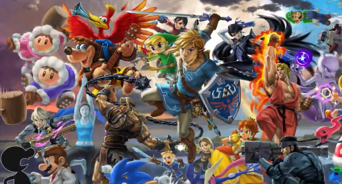 Nintendo Wire On Twitter A Brand New Super Smash Bros Banner Is Here Featuring Banjo Kazooie And The Hero From Dragon Quest Https T Co Xeqogtwlxu Https T Co K1fimfpxjz