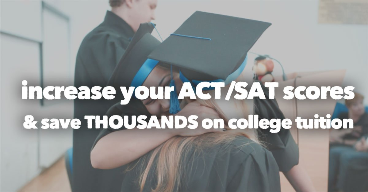 Increase your ACT/SAT Scores & Save Thousands on College Tuition >> http://ow.ly/OJpy30oVjBj