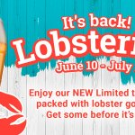 Lobsterfest is officially in full swing at The Royal Oak Pubs, from June 10 - July 1. Come and enjoy our NEW limited time menu packed with lobster goodness! Get some before it's gone! #MeetMeAtTheOak