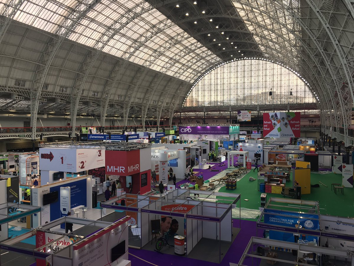 So nearly there! We can't wait to see you tomorrow for the inaugural @CIPD #FestivalofWork! Who's excited? 🙋‍♀️