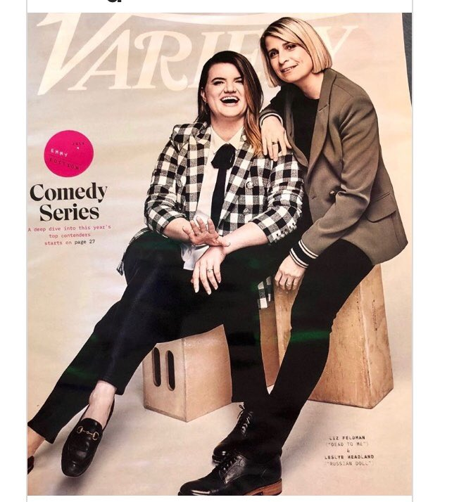 Our fearless leader @thelizfeldman on the cover of @Variety so cool! Congrats to both of these amazing women!!!