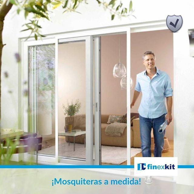 #Mosquiterasamedida es la protección de #ventanasypuertas que impiden la entrada de mosquitos y🦟 otros insectos 🏡en tu hogar. Disfruta tus ambientes. Finexkit #ventanas de calidad 👍Carpintería metálica y Ventanas de #aluminio, para su hogar 👨👩👧👦 y su negocio🏭 https://t.co/KAkNF8aaZI