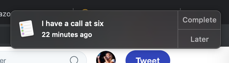 nothing makes me more mad at myself than these ghost reminders and calendar events i leave for myself. if i have a call with you tonight at six, lmk. all i know is i have a call. no idea who with.