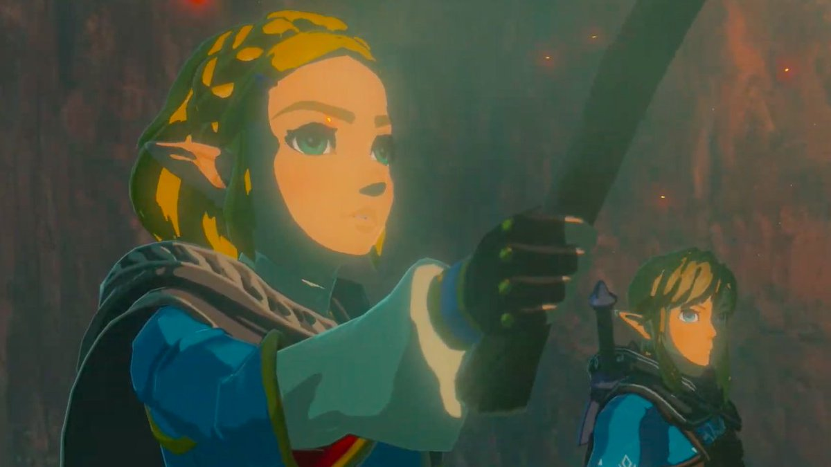 Heres your first look at the Breath of the Wild sequel. #E32019 #NintendoDirectE3