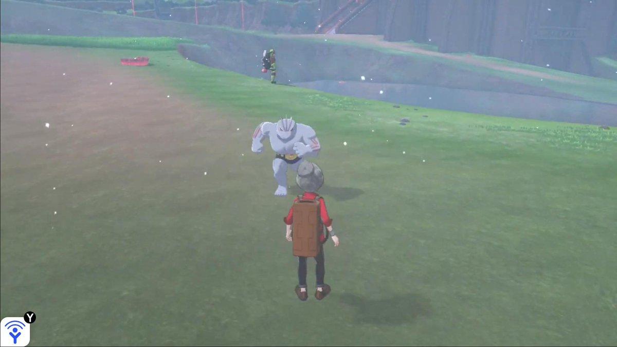Machoke is terrifying in Pokémon Sword and Shield