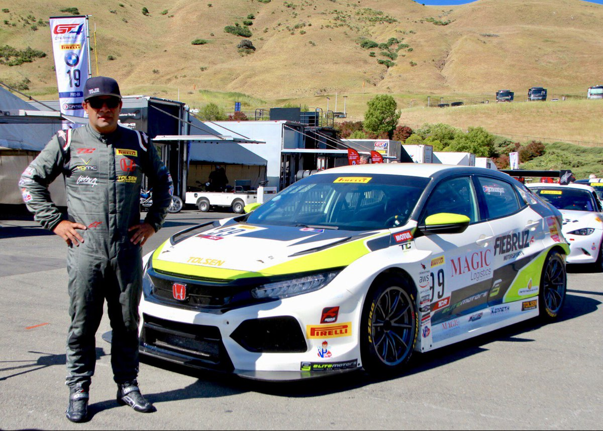 Proud of everybody's hard work at #VGMCRacing for the first W 🙌driving @JASMotorsport #CivicTCR #TypeR @HondaRacing_HPD #ThePowerOfDreams @SROAmerica @RaceSonoma is not a one man show, you need good partners to succeed 🙏
