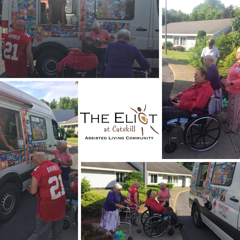 Ice Cream Man stopped by and made our dreams come true! We plan to be a frequent stop on his route!! #IceCreamMan