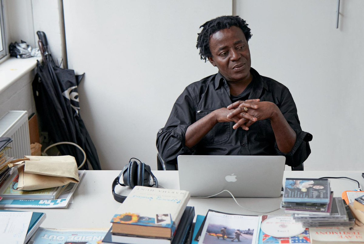 Join renowned artist, filmmaker and writer, @JAkomfrah, and curator @edyanganiosefor a special discussion on the architecture of memory, migration and multiculturalism this evening. > Tickets still available fal.cn/stlX #MakingMemory