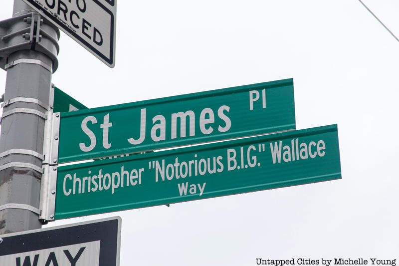 Street gets named after Notorious B.I.G.