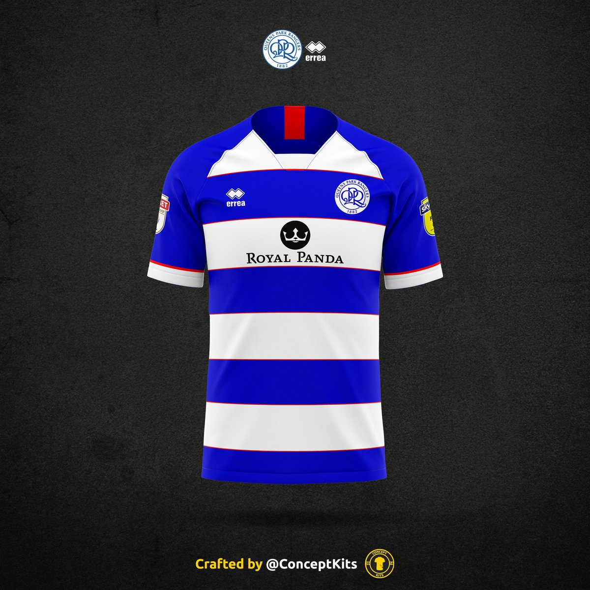 finest selection a5ec5 c8544 Queens Park Rangers Football Club home, away and third kit ...