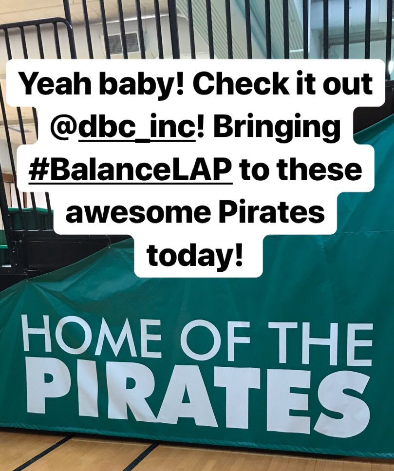 Love that I get to bring #BalanceLAP to the pirates today! #LeadLAP #tlap #DBCincBooks