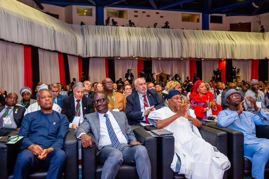 D8yTmqQWwAYDXBM - Photo news: Buhari, Tinubu, Aregbesola others grace EFCC National Democracy Day Anti-corruption summit