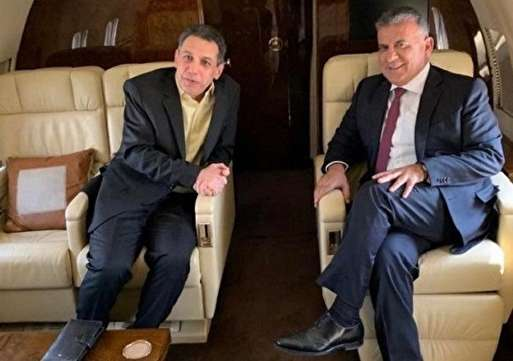 #niza #Zakka flew from #iran to #Beirut on Tuesday with Lebanon's security chief #Abbas #Ibrahim. #lebanon #US #نزار #زكا  #لبنان
