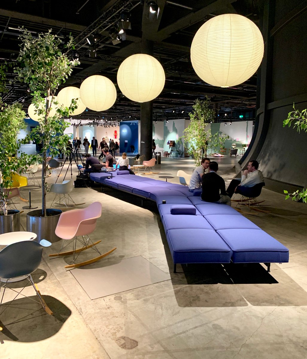 Art week in Basel is officially on, @DesignMiami just opened its doors. If you need a rest from all the art- and design-exploring, we've got you covered. Have a seat! #vitra #designmiami #designmiamibasel <br>http://pic.twitter.com/x17K4rzohI