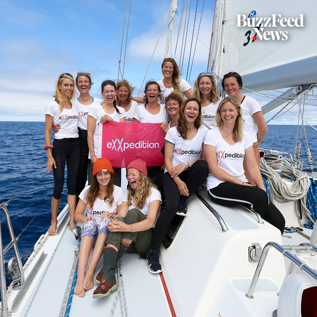 A group of women will be sailing around the world to raise awareness about single-use plastic pollution ⛵️♻️