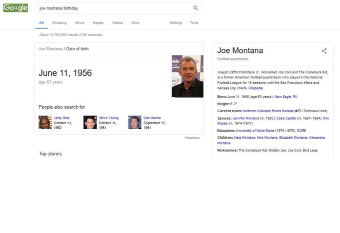 Happy Birthday Joe Montana. Who would have guessed you\d be playing DE for Northern Colorado in your 60\s.