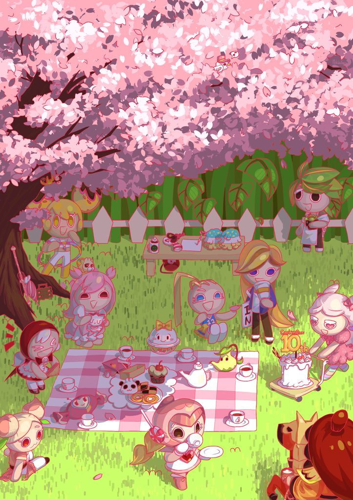Join the themed picinic    #GingerBrave10th #CRFanArtBook<br>http://pic.twitter.com/UBJ2R3fEmc
