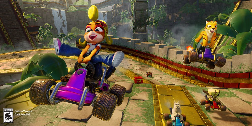 Crash is back in the driver's seat, revved to the max, and fully-remastered. Pre-order Crash Nitro Fueled for #PS4 now to earn points: https://go.sony.com/2X294tQ