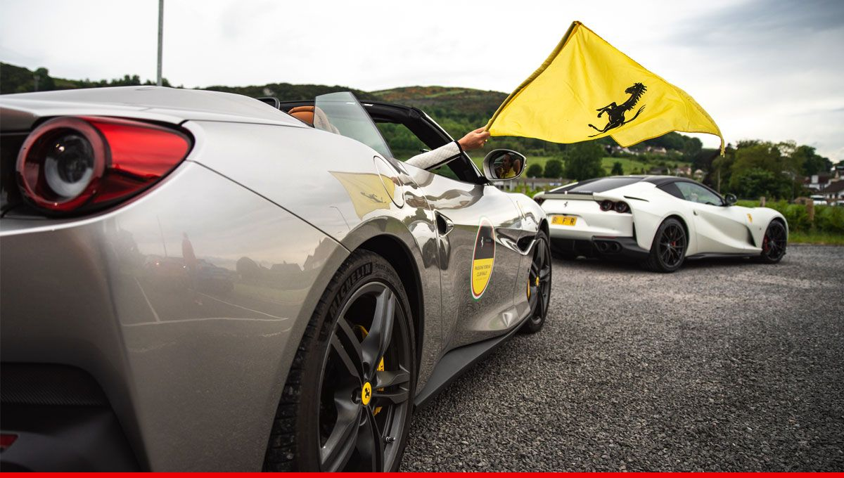 "Ultimate #Ferrari driving pleasure was unleashed at the GT Tour in Scotland while exploring amazing landscapes. Don't miss the next exclusive ""Passione Ferrari Club Rally"" GT Tour in Bavaria, Germany, from June 28th to 30th. #DrivingFerrari #FerrariExperience"