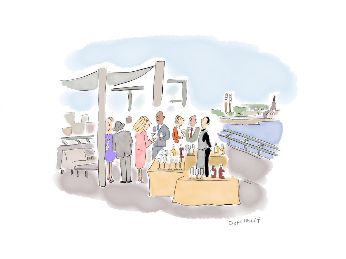 Wonderful to see iconic #MeetInKerry locations & characters captured by @lizadonnelly on this inspiring meander through Ireland's Business Tourism regions! Thanks @MeetInIreland; we love this marketing concept & can't wait to see the drawings come to life in future activities ☘