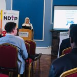 Minister Mary Mitchell O'Vonnor launches the 2nd Academic Track for Internship showcase; looking forward to hearing about some great research this afternoon! @NDTP_HSE