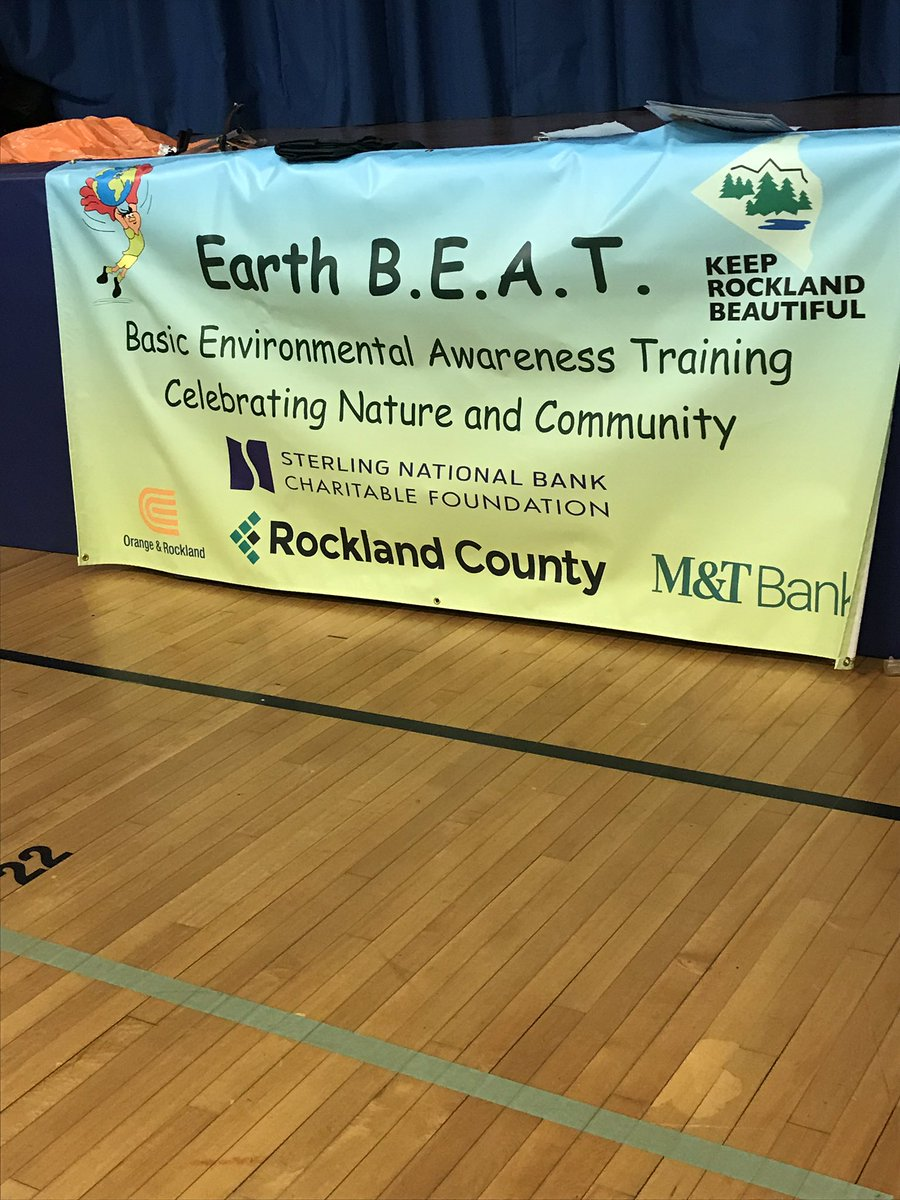 Way to go, Viola Elementary! @KRB_Rockland so excited to work with everyone on EARTH B.E.A.T. together!!