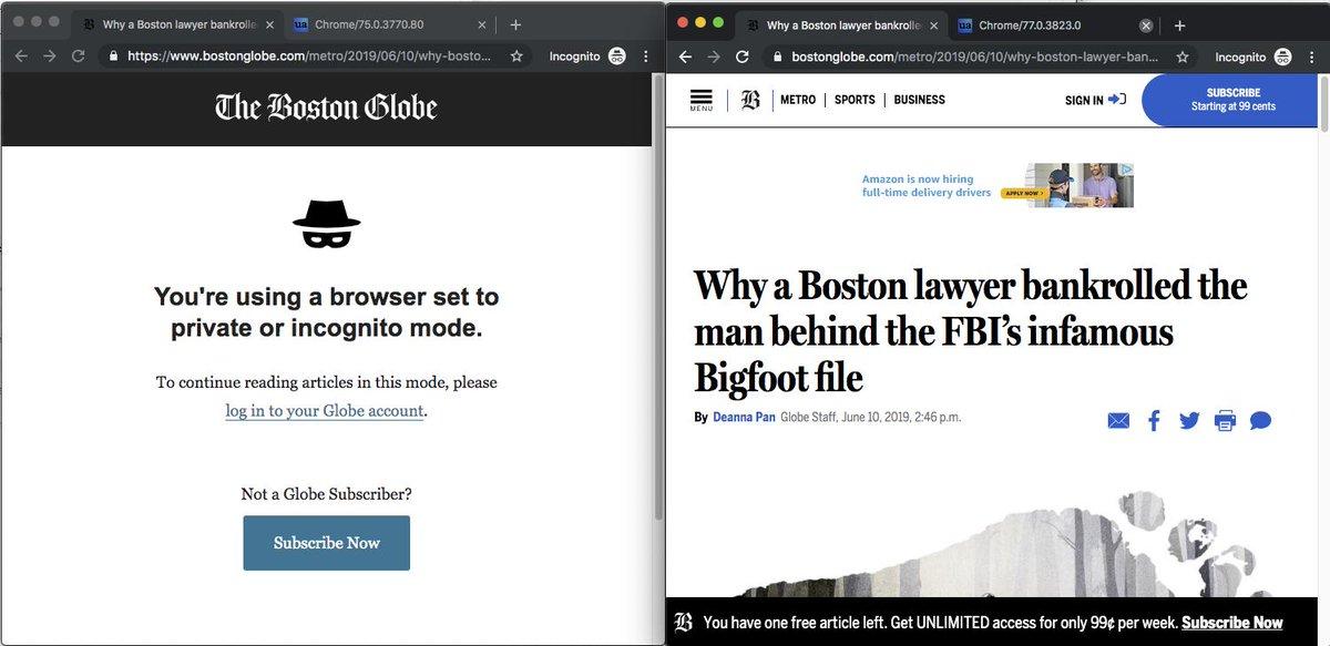 Google Chrome 76 beta makes it harder to use Flash, easier to dodge paywalls
