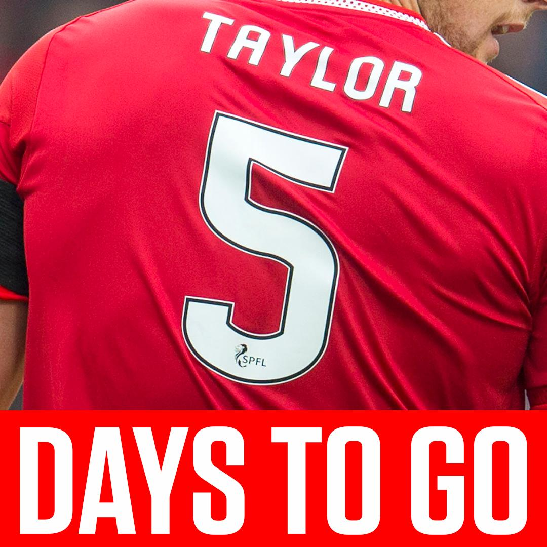 5⃣ days til the fixture launch...  Dons fans, are you buzzing for the new season? 😍  #SPFL | @AberdeenFC