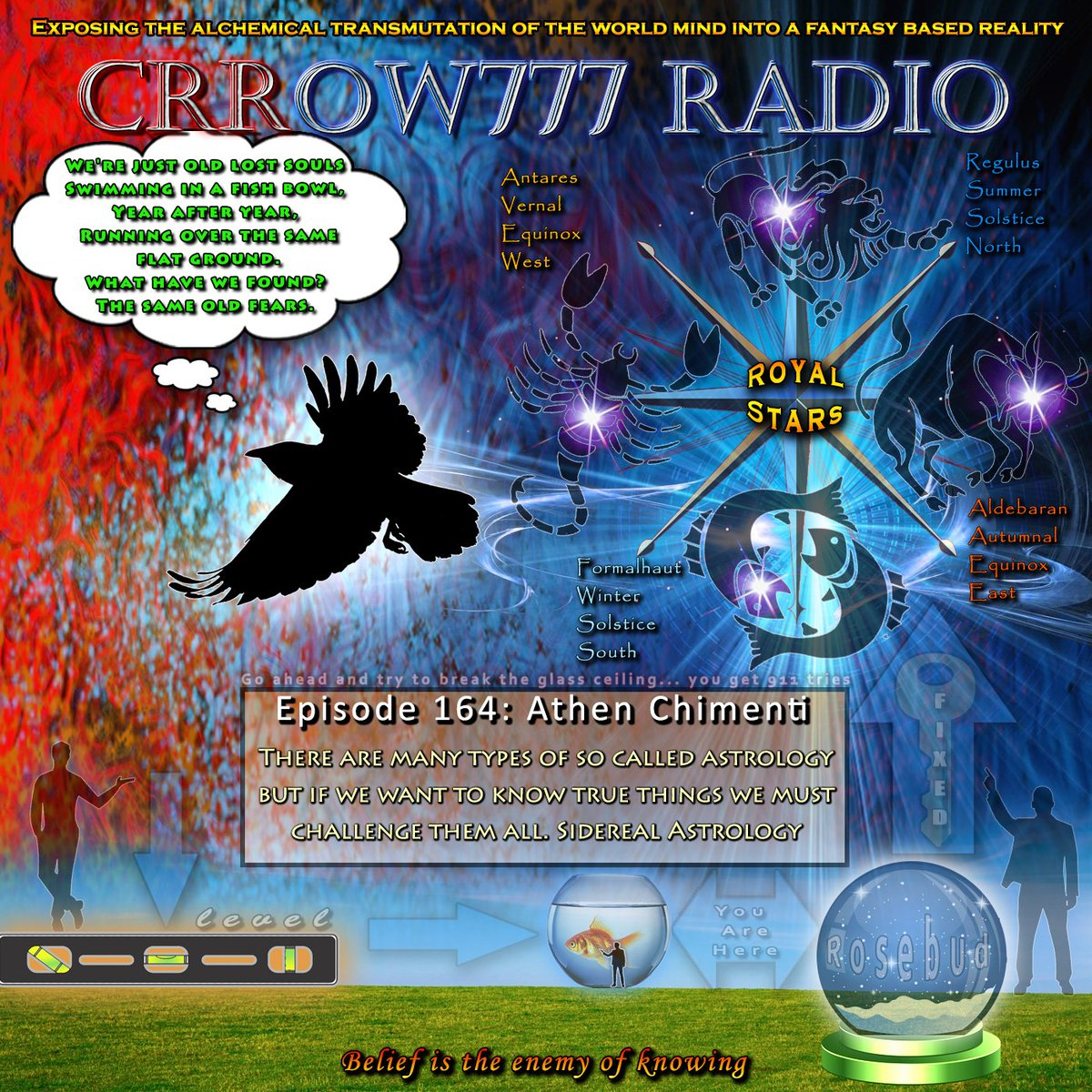 Episode 164 this Thursday at http://Crrow777Radio.com. Challenging all astrology to understand the Skyclock.