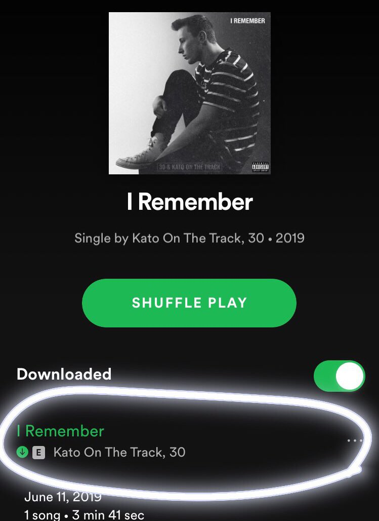 """""""I REMEMBER"""" out now! ❤️"""