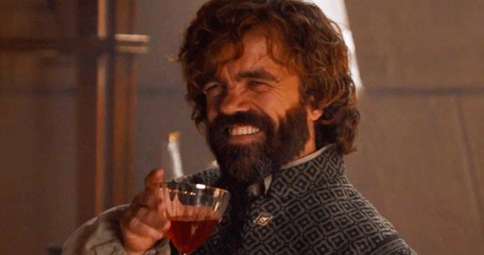He drinks, and he knows things. Happy Birthday Peter Dinklage