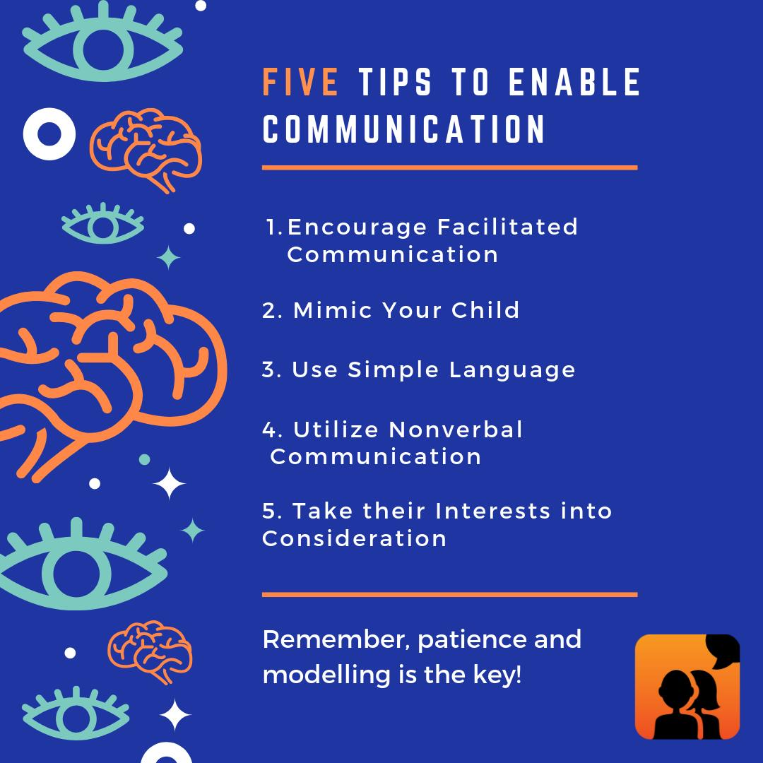 Team Avaz has come up with 5 useful tips that can enable your child with autism to communicate! . #autism #avaz #acceptance #aac #specialeducation #speechtherapy #autismawarness #autismacceptance #autismawarenessmonth #autismmom #autismacceptancemonth #betheirvoice #communication