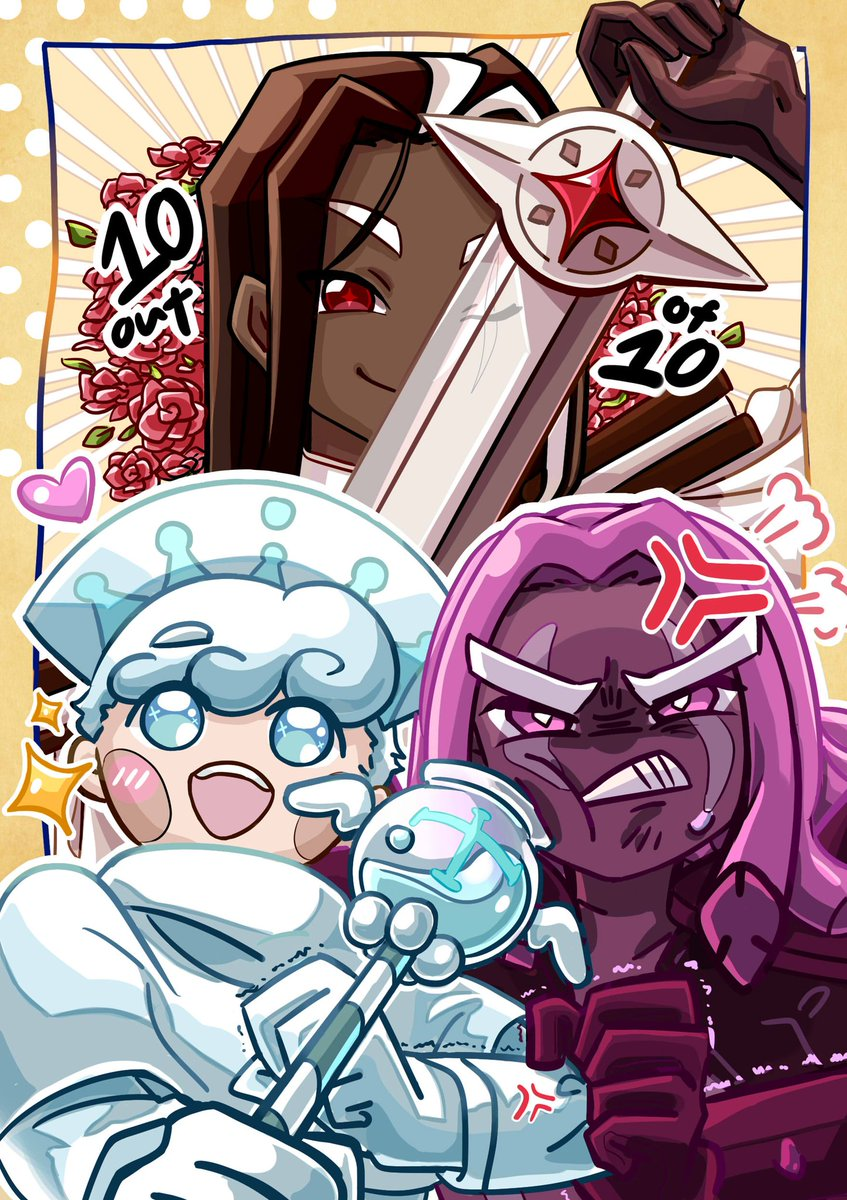 AAAA HAPPY BIRTHDAY GINGERBRAVE!!! Here's my piece for the CR 10th anniversary fanzine >:3c Thank you Devsisters for this amazing crust running game again!!!  #GingerBrave10th #CRFanArtBook #cookierun<br>http://pic.twitter.com/2Jzif9BWqE