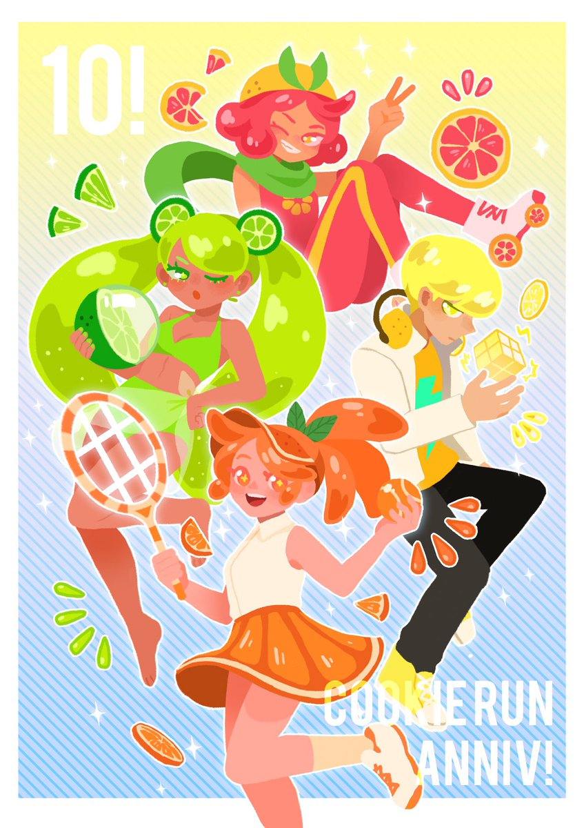 Happy 10th annivsary cookie run! Looking forward to another year with you! #CRFanArtBook #GingerBrave10th  #cookierun <br>http://pic.twitter.com/fcwjRG7oFl