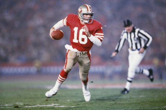 16 is 62 today. Happy birthday, Joe Montana.