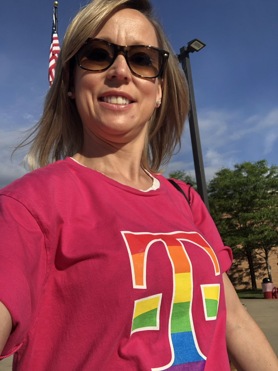 Happy pride and T-shirt Tuesday at CLR Summer Institute! @RPS535 #vabbnation2019 @JohnLegere #BeYou @mirandajostark #MyTCM <br>http://pic.twitter.com/XqfquSUjzU