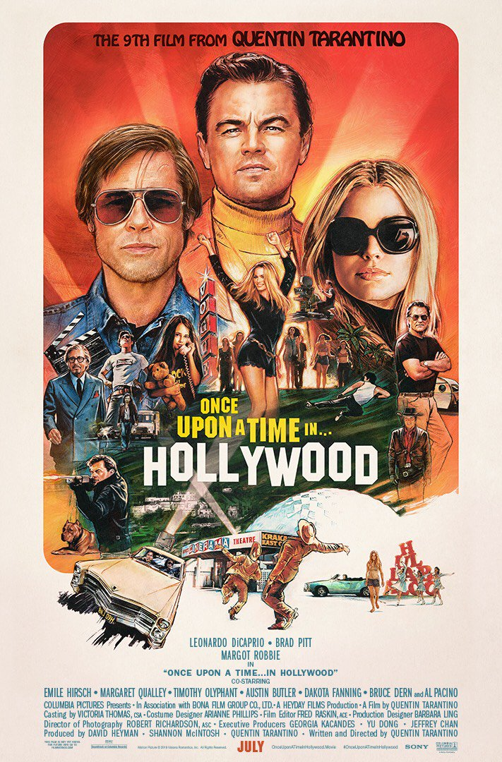 In theaters July 26th. #OnceUponATimeInHollywood