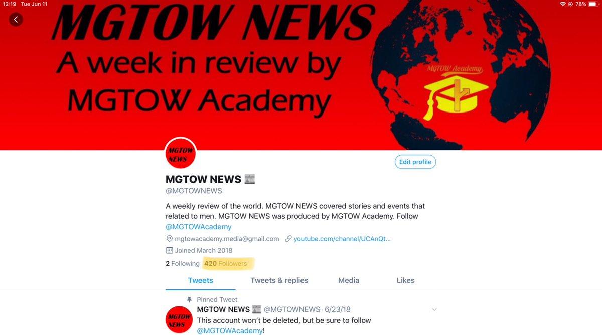 MGTOW NEWS 📰 (@MGTOWNEWS) | Twitter